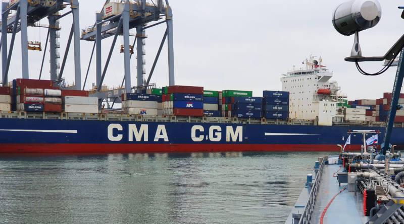CMA CGM White Shark Bunkering
