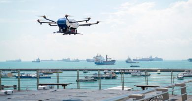 Wilhelmsen Agency by Air Project - Airbus Skyways Drone Lifting Off