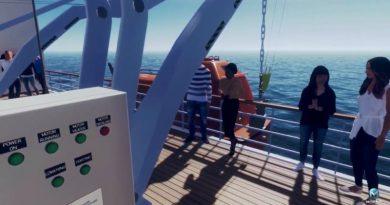 VR-lifeboat Simulator