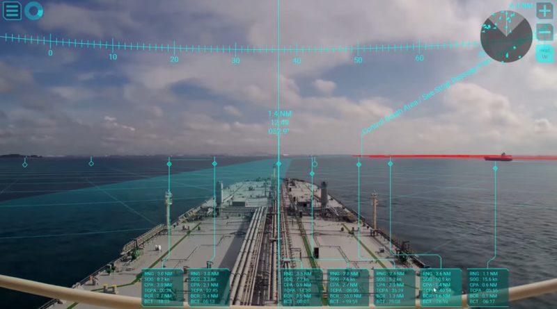 навигационна система с обогатена реалност