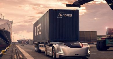 Volvo Trucks Vera с контейнер