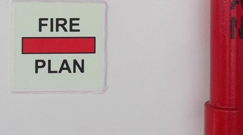 Символ за противопожарен план