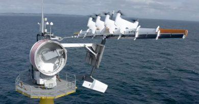 Летяща офшорна ветрогенераторна система на Makani