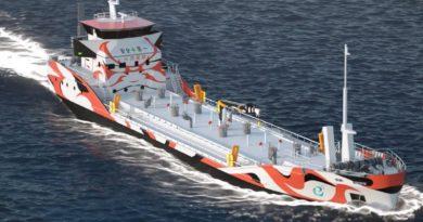 е5 - Изцяло електрически кораб с нулеви емисии