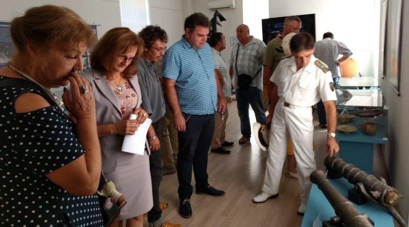 Военноморският музей представя подводната археология в изложба