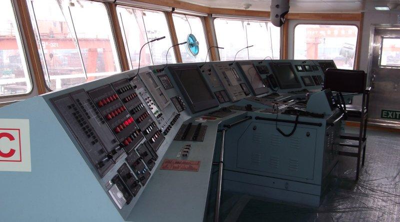 Мостик на кораб. Аларми на мостика