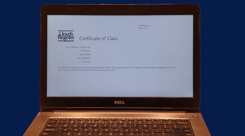 LR Електронни сертификати