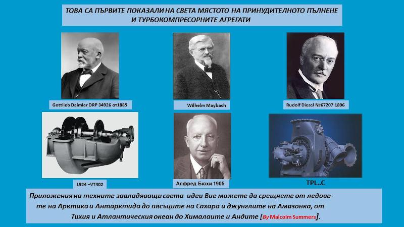 Първите показали на света мястото на принудителното пълнене и турбокомпресорните агрегати