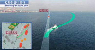 NYK тества дистанционна навигация на влекач