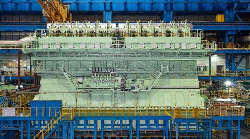 WinGD 12X92DF - най-големия и мощен LNG двигател в света