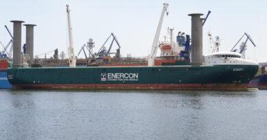 E-SHIP 1 пристигна във Варна