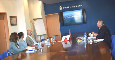 Среща Пристанище Бургас Р Турция