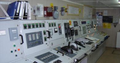 Машинно отделение Централен Пулт за Управление