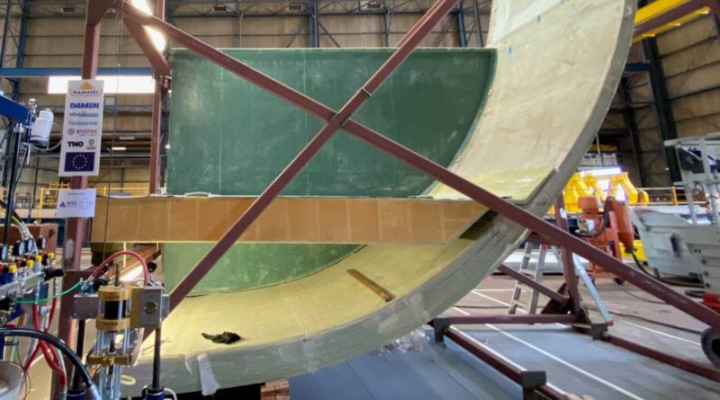 """Проект RAMSSES """"Damen Schelde Naval Shipbuilding"""" (DSNS)"""