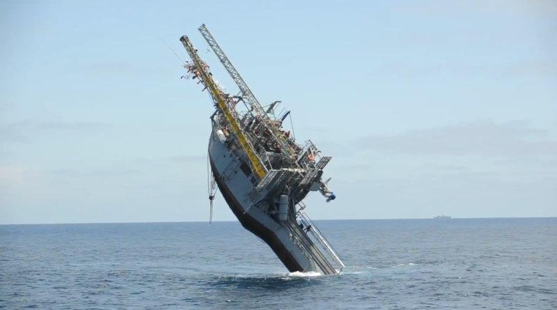 FLIP – един от най странните кораби в света