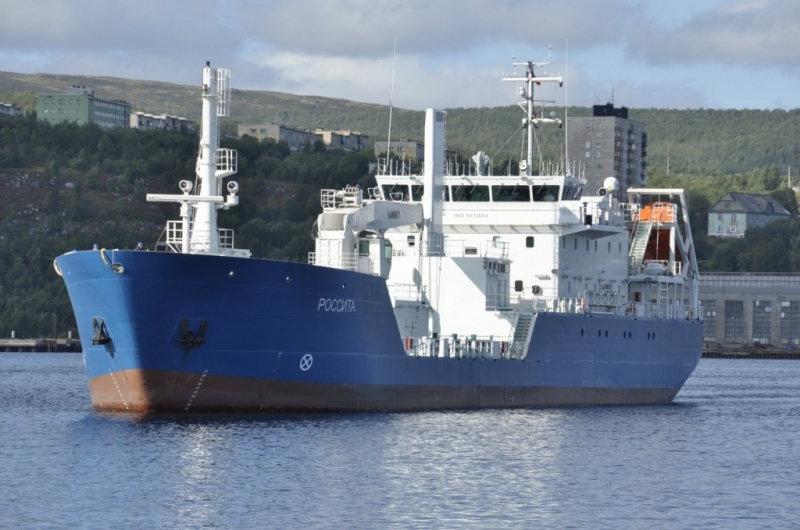 Кораб за превоз на радиоактивни товари Россита