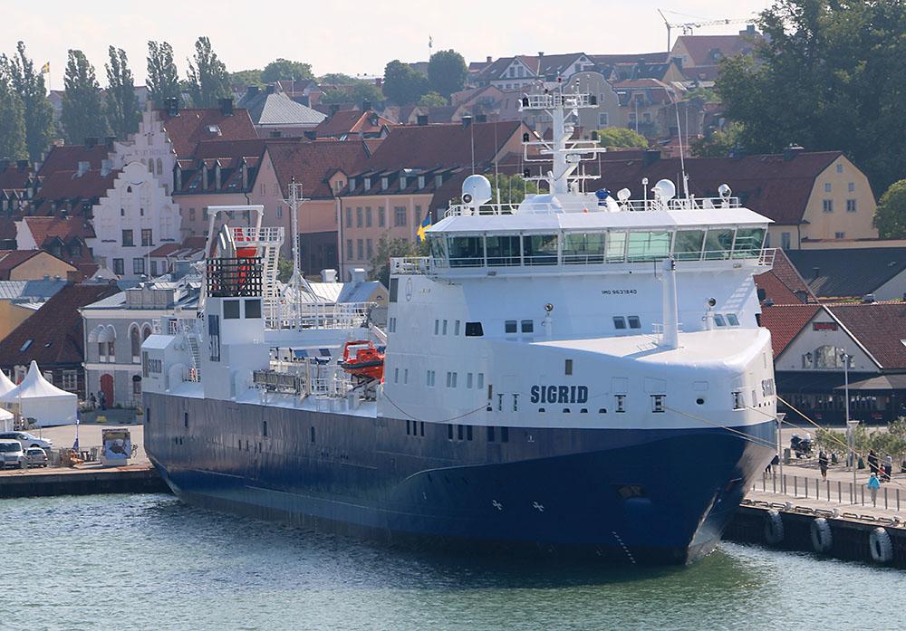 Кораб за превоз на радиоактивни товари Sigrid