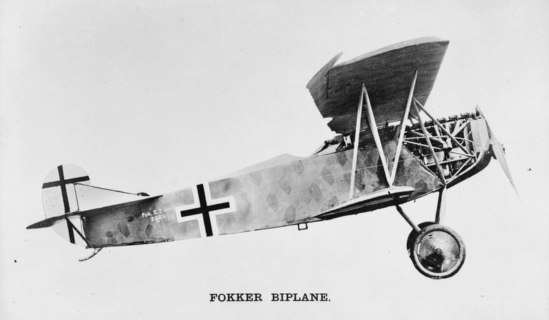 Fokker Biplane D. Vii.