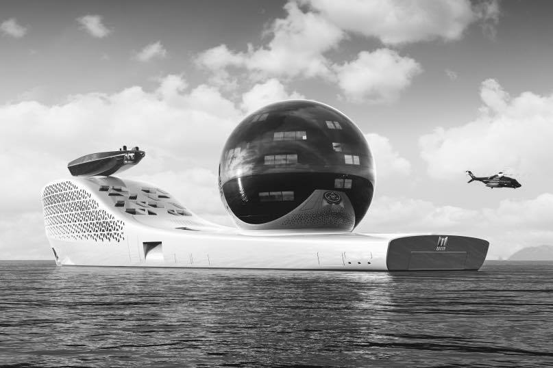 Атомна суперяхта ще предлага пътешествия за по $3 милиона